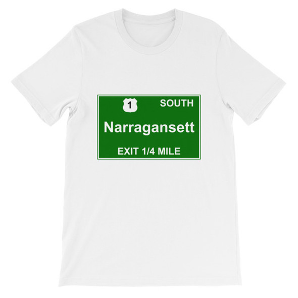 Narragansett Exit Short-Sleeve Unisex T-Shirt