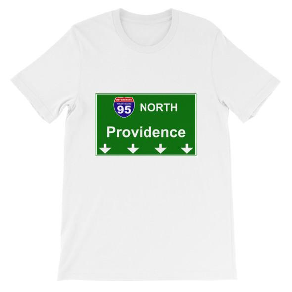 I95 North Providence Short-Sleeve Unisex T-Shirt