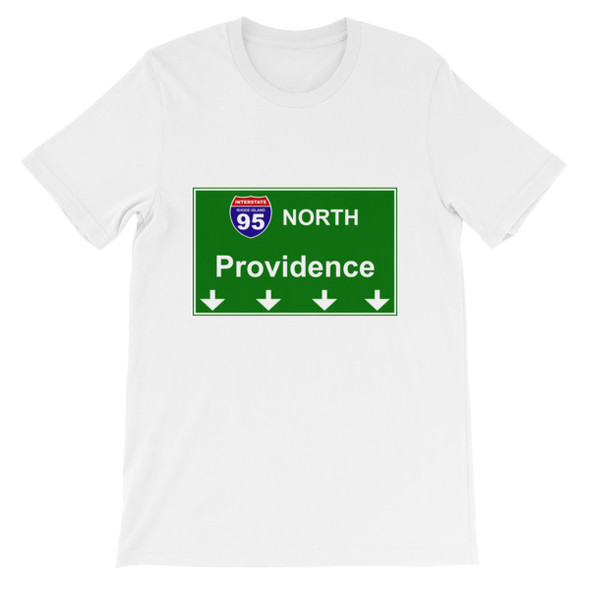 I95 North Providence Short-Sleeve Unisex T-Shirt