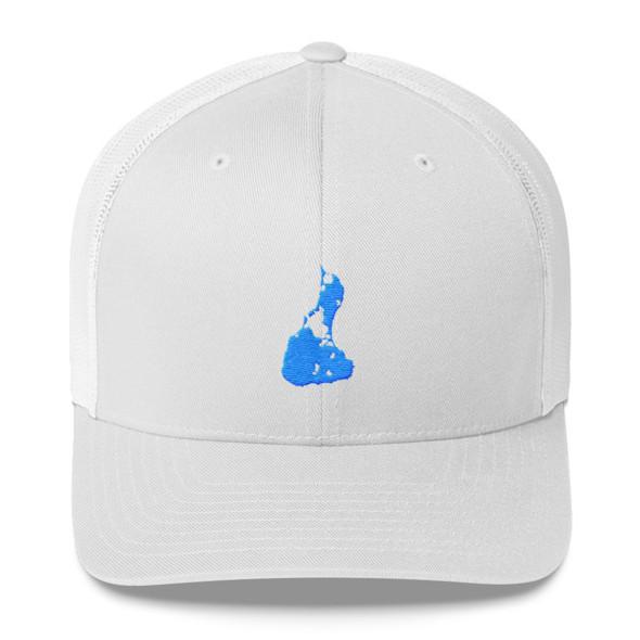 Block Island Blue Logo Trucker Cap