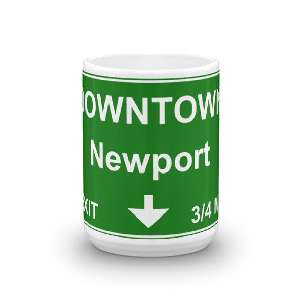 Downtown Newport Exit Mug