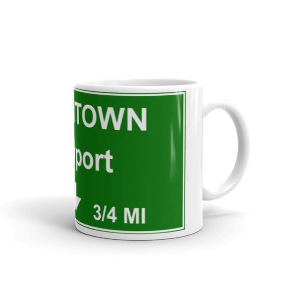 Downtown Newport Exit Mug