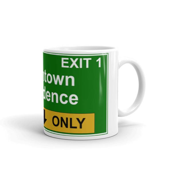 Providence Exit 1 Mug