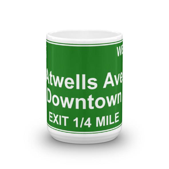 Atwells Ave Exit Mug