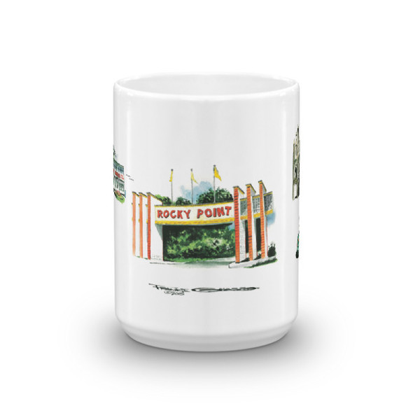 Rocky Point Memories by Frankie Galasso Mug