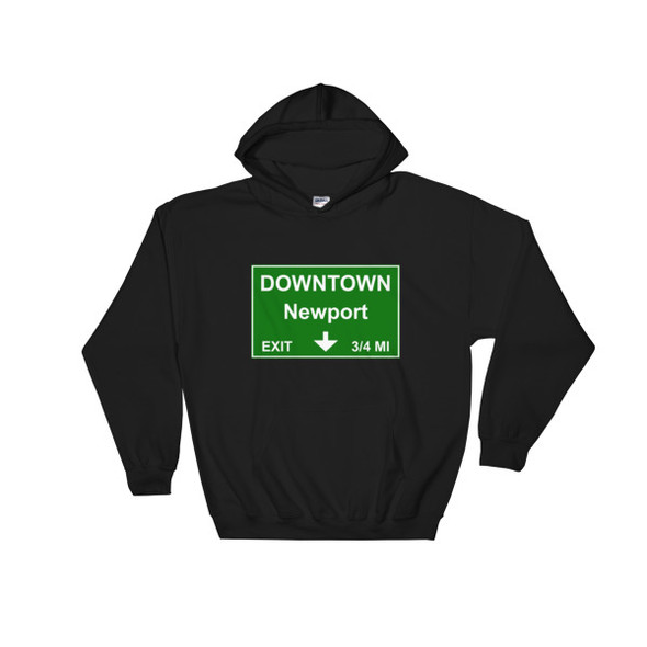 Downtown Newport Exit Hooded Sweatshirt