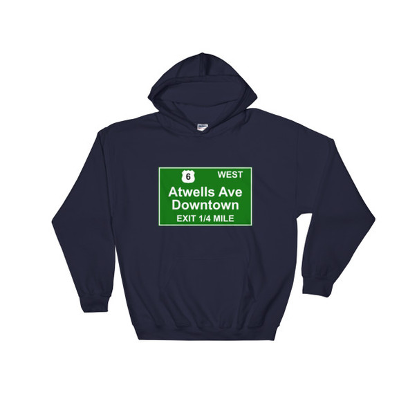 Atwells Ave Exit Hooded Sweatshirt