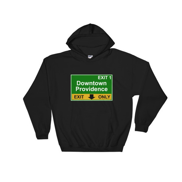 Downtown Providence Exit Hooded Sweatshirt