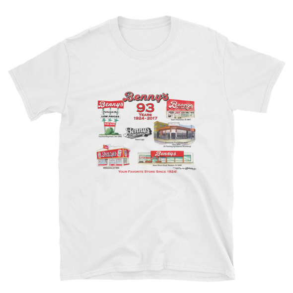 """""""Benny's Forever"""" Short-Sleeve Unisex T-Shirt by Frank Galasso"""
