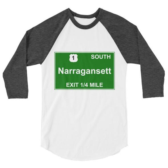 Narragansett Exit Unisex Raglan
