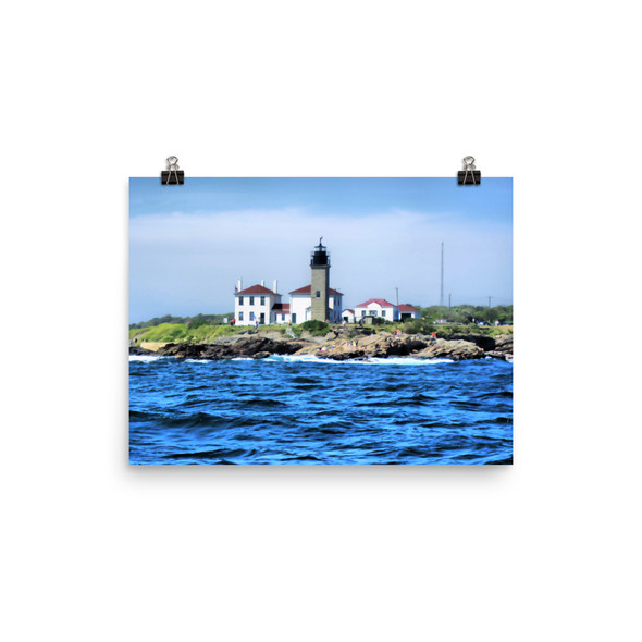 Beavertail Lighthouse Poster