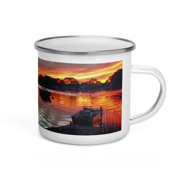 Salt Pond Narragansett Enamel Mug
