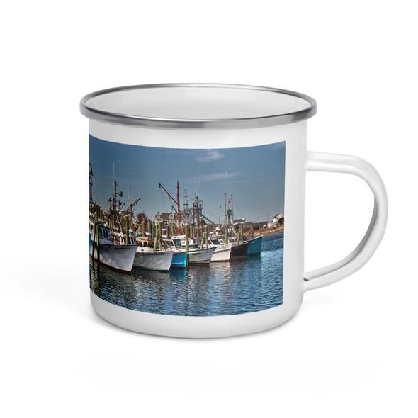 Galilee Fishing Fleet Enamel Mug