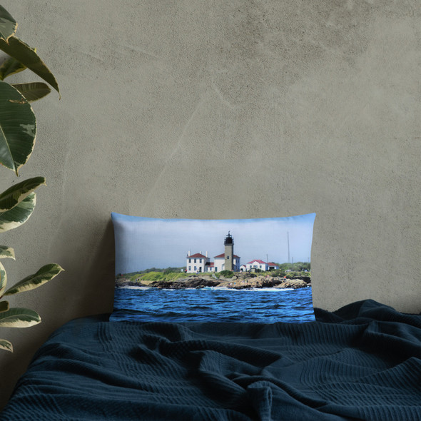 Beavertail Lighthouse Premium Pillow
