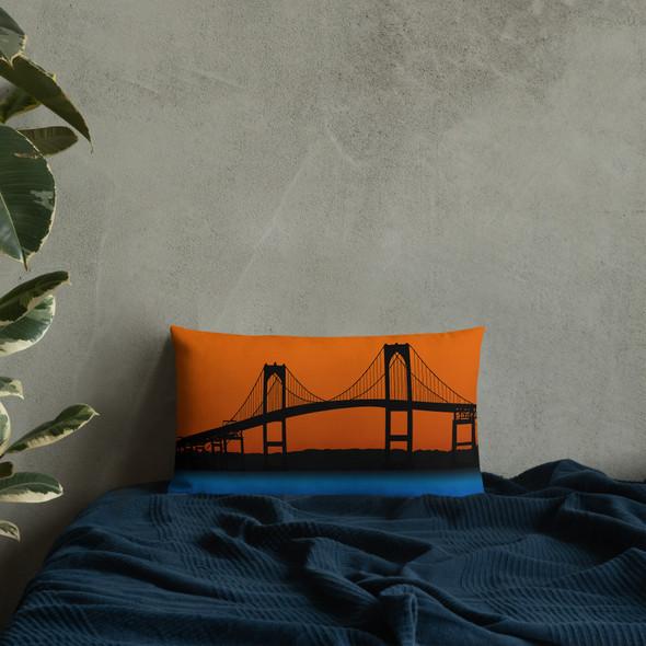Newport Bridge Premium Pillow