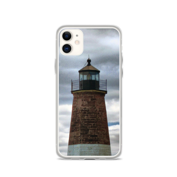 Point Judith Lighthouse #002 iPhone Case