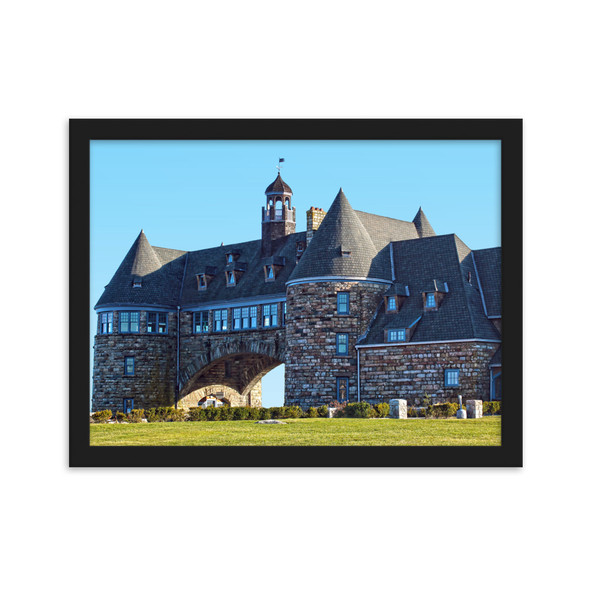 The Narragansett Towers #001 Framed matte paper poster
