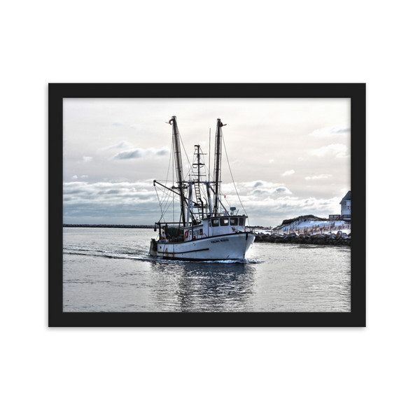 FV Virginia Marise Point Judith Framed matte paper poster
