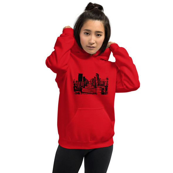 """Down The Docks"" Unisex Hoodie"