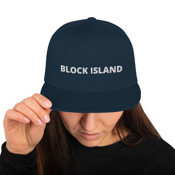 Block Island 002 Snapback Hat