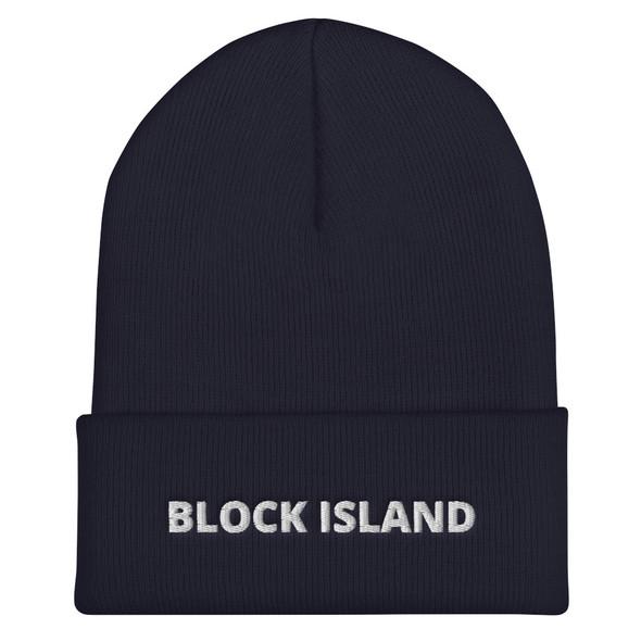 Block Island 002 Cuffed Beanie