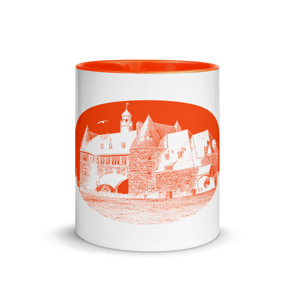 Narragansett Towers Orange Mug