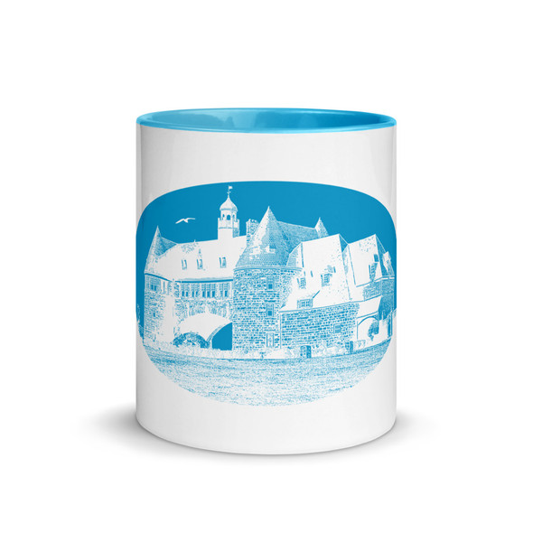 Narragansett Towers Blue Mug