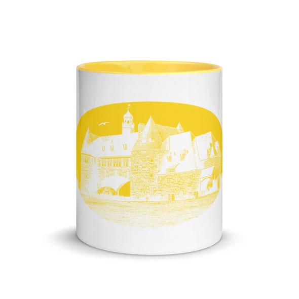 Narragansett Towers Yellow Mug