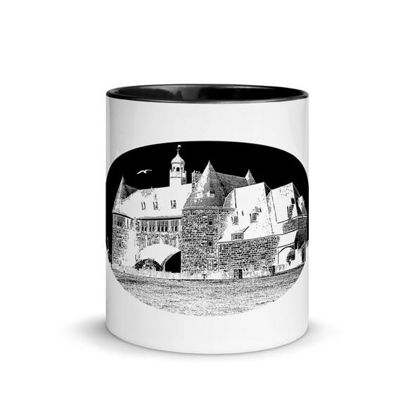 Narragansett Towers Black Mug