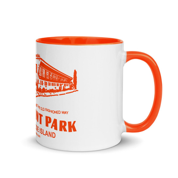 Shore Dinner Hall Orange Mug