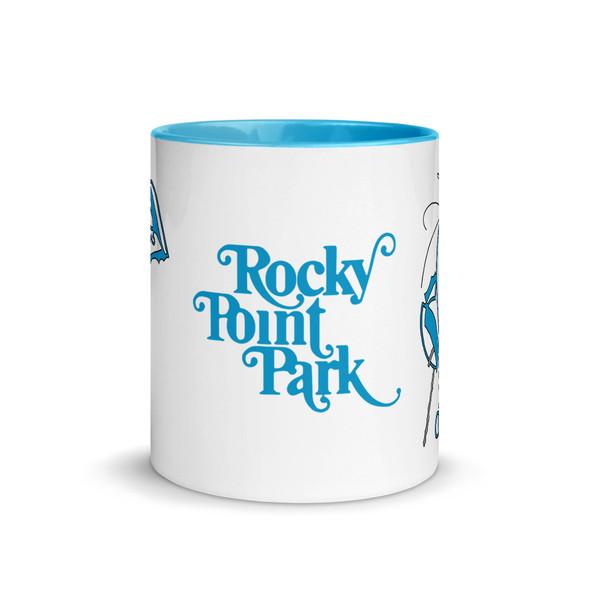 Rocky Lobster Blue Mug