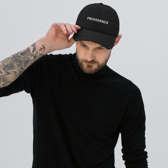 Providence Distressed Dad Hat