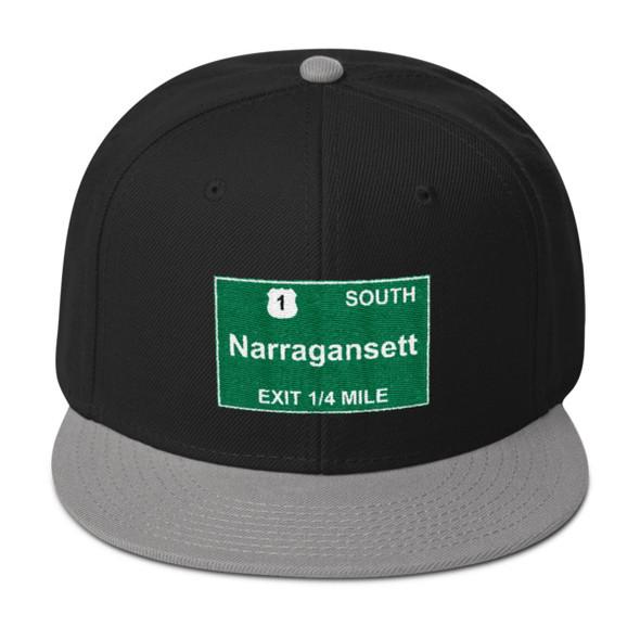 Narragansett Exit Snapback Hat