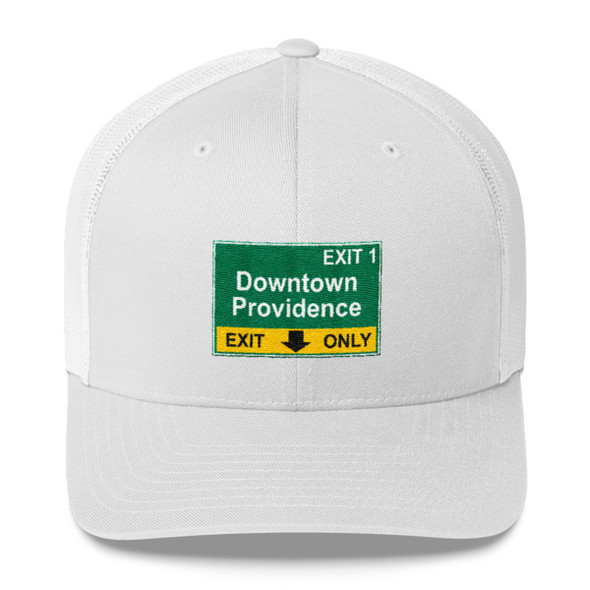 Downtown Providence Exit Trucker Cap