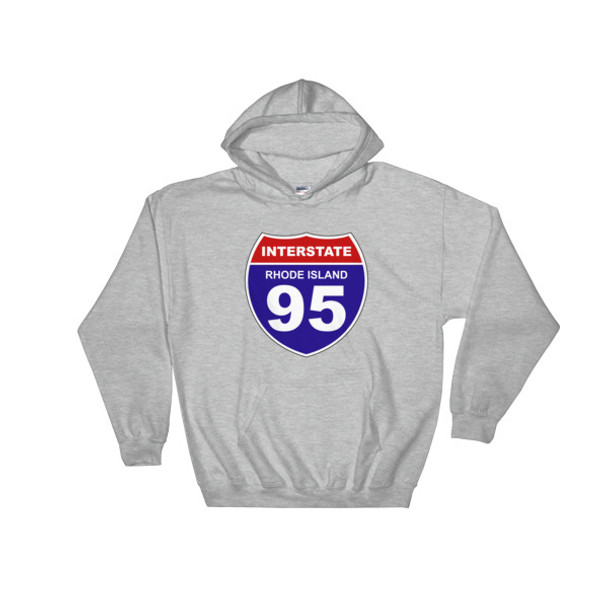 I95 Rhode Island Hooded Sweatshirt