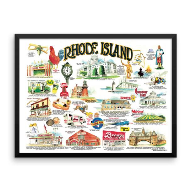 """Rhode Island Icons"" by Frankie Galasso"