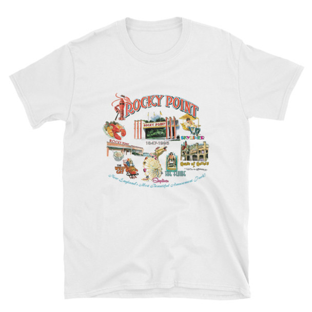 """""""Rocky Point Memories"""" Short-Sleeve Unisex T-Shirt by Frank Galasso"""