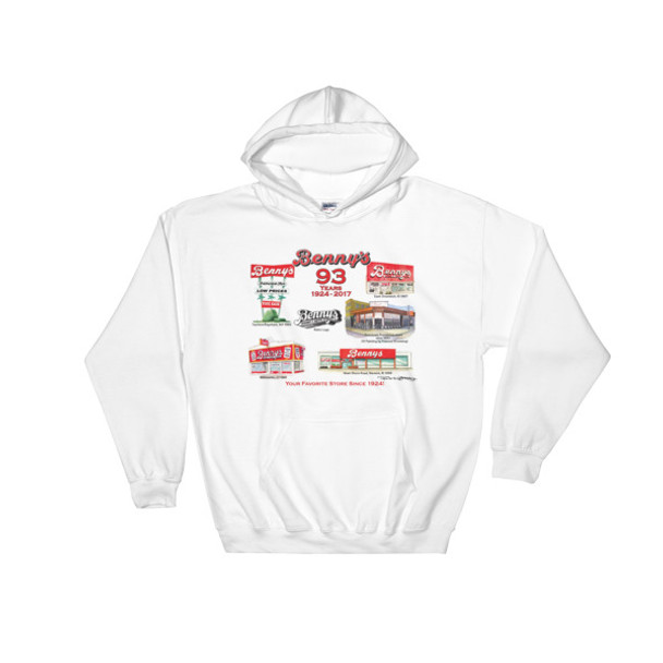 """Benny's Forever Hooded Sweatshirt by Frankie Galasso"