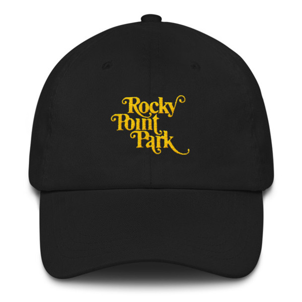 Rocky Point Park Yellow Embroidered Dad hat
