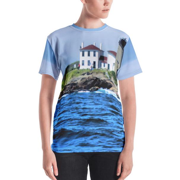 Beavertail Lighthouse Women's T-shirt