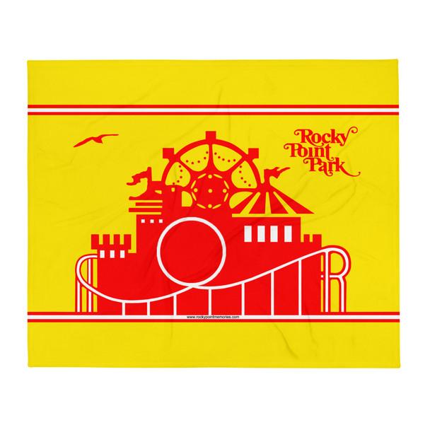 Rocky Point Park 001 Throw Blanket