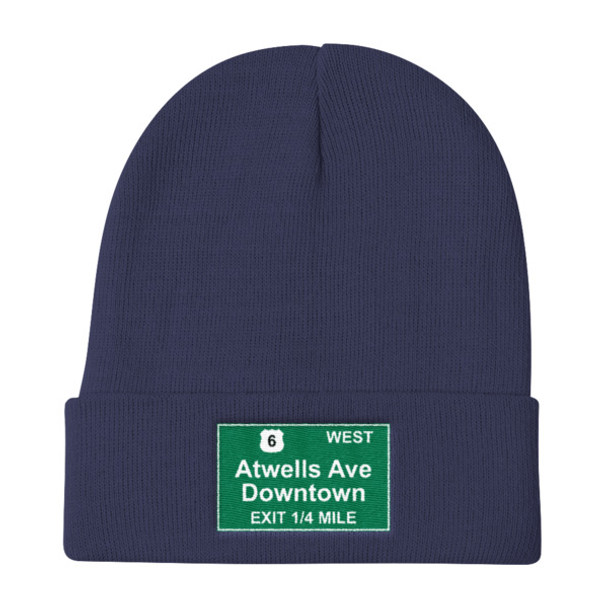 Atwells Ave Exit Knit Beanie