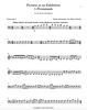 Sheet music for Promenade (Cello 2) from Pictures at an Exhibition by Mussorgsky for cello quartet. As played and recorded by the Boston Cello Quartet.