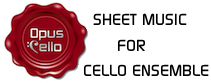 Fine Arrangements for Cello Ensembles