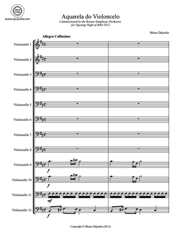 1st Page Full Score
