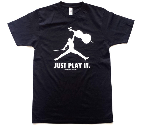 "T-Shirt ""Just Play It."""