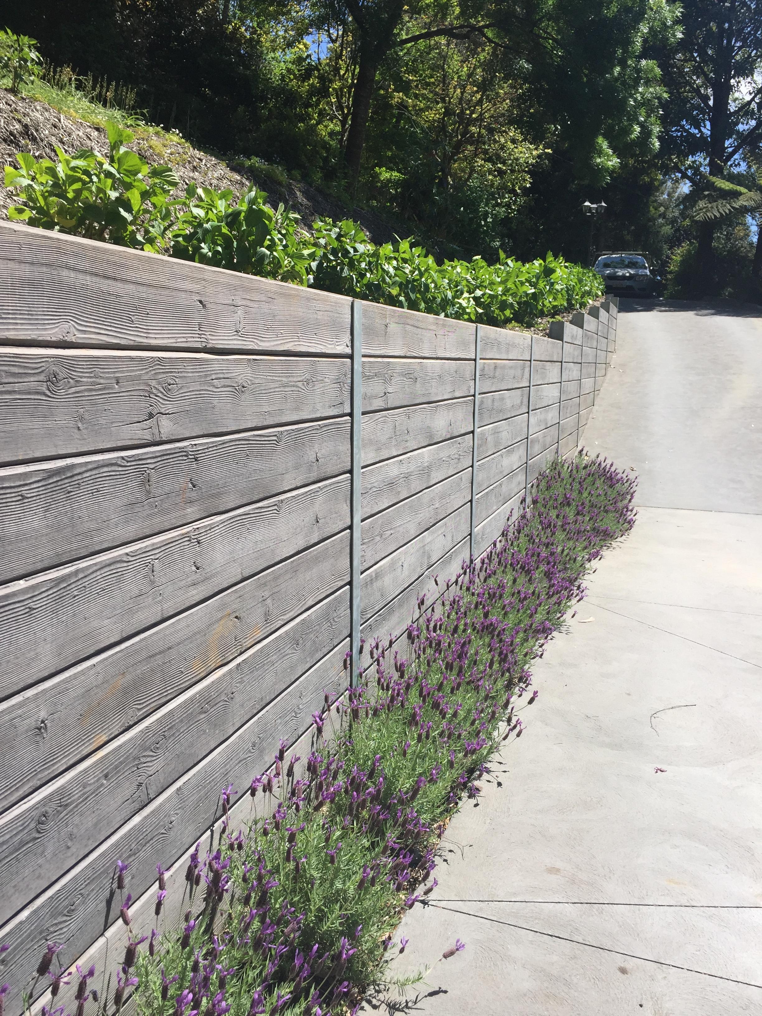Concrete Sleepers Sydney Diy Concrete Retaining Walls