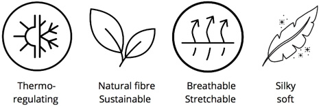 Find out more about Tani Clothing's exclusive Micro Modal Beechwood Eco-friendly Fabric