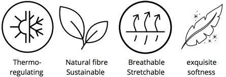 Discover the benefits of Tani Clothing's exclusive Micro Modal Beechwood Eco-friendly Fabric
