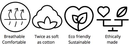 Discover more about Tani Clothing's magic Micro Modal Beechwood Eco-friendly Fabric